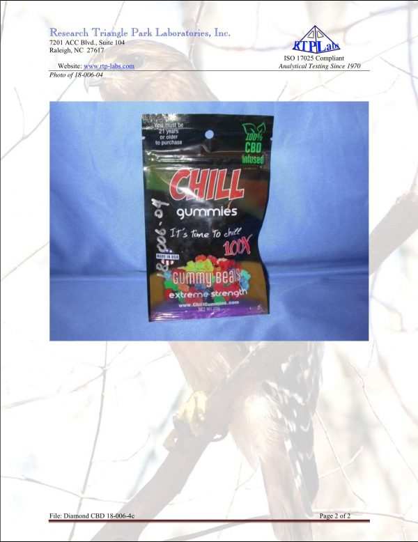 Lab Report Chill Gummies 2 3