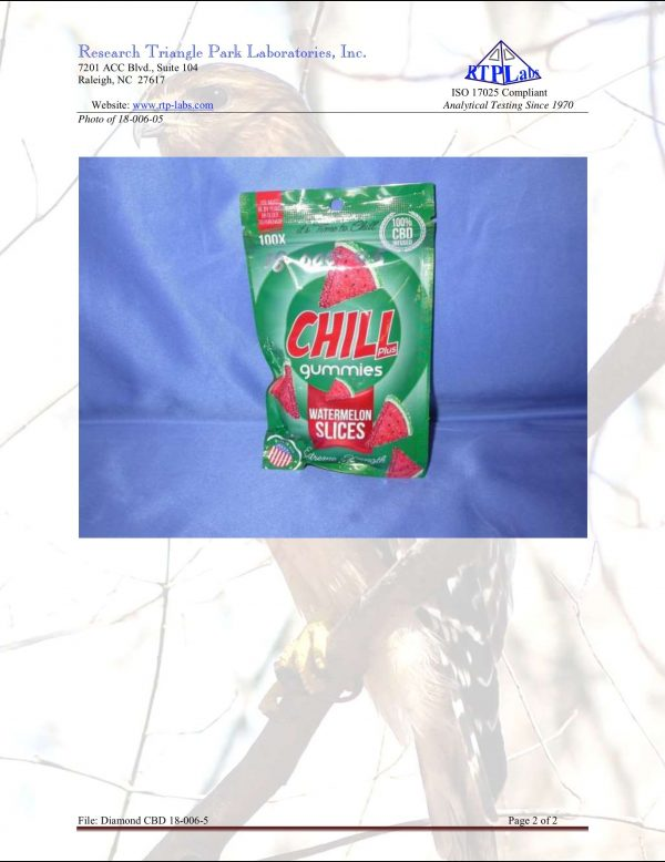 Lab Report Chill Gummies Plus Watermelon Slices 2