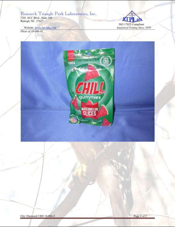 Lab Report Chill Gummies Plus Watermelon Slices 2 7