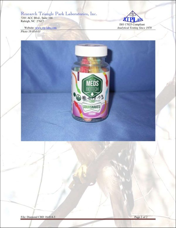 Lab Report Meds Biotech Gummies 2 4